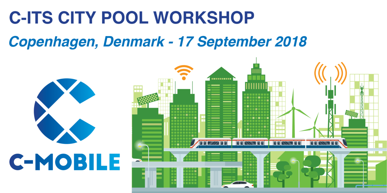 Register now for the C-ITS City Pool Workshop