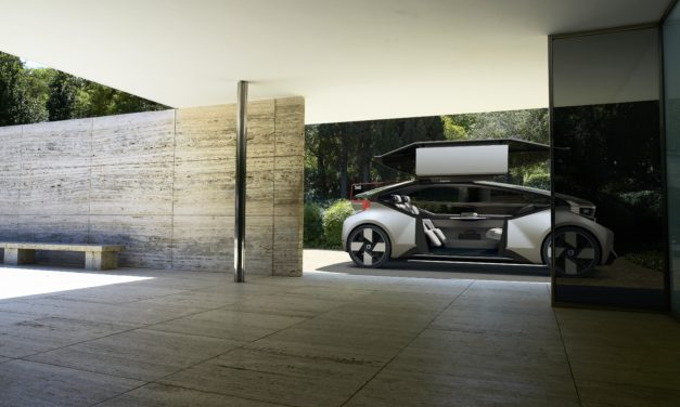 Volvo presents 360c, fully autonomous electric vehicle