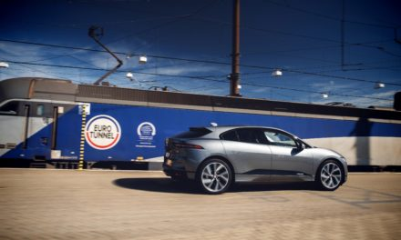Jaguar charges through channel tunnel for cross-continent i-pace drive