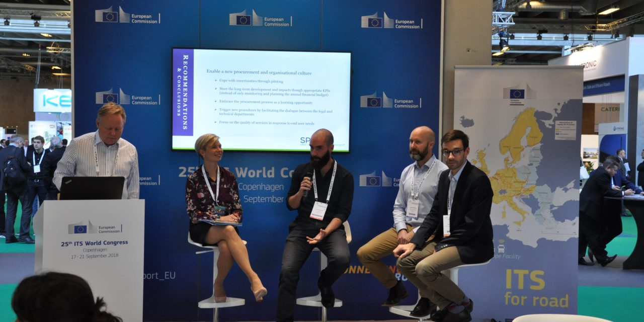 Key findings on public procurements presented at ITS World Congress