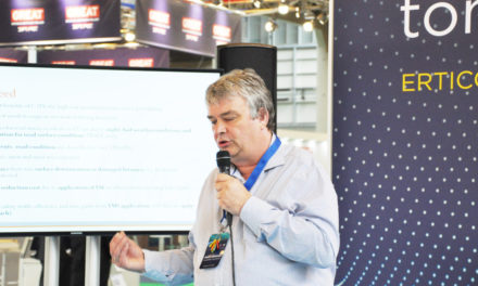 Revolutionary road marking system showcased at ITS World Congress