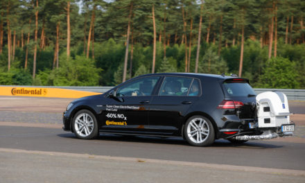 Continental shows how to combine lower emissions with reduced fuel consumption