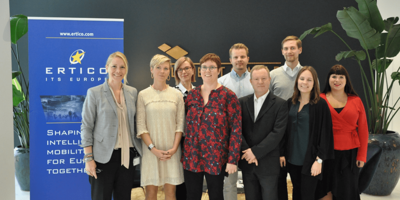 ERTICO meets MEP Merja Kyllönen to discuss smart mobility