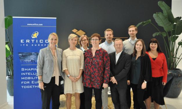 ERTICO meets MEP Merja Kyllönen to discuss smart mobility