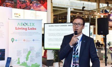 Introducing the data sharing network for logistics to the ITS World Congress 2018