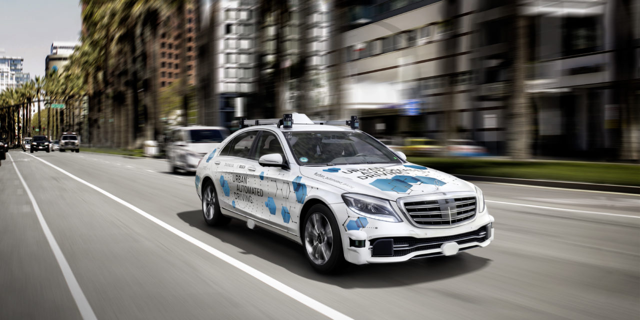 Bosch and Daimler to establish pilot city for an automated on-demand ride-hailing service in USA