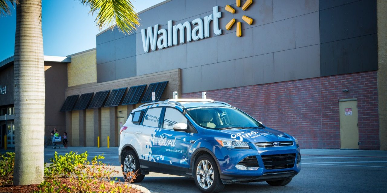 Ford, Walmart and Postmates team up for self-driving goods delivery