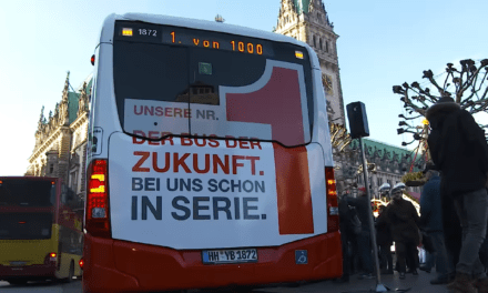 Hamburg now en route to emission-free bus fleet in 2030