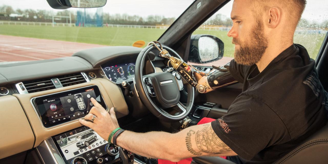 Jaguar Land Rover developed car door with gesture control
