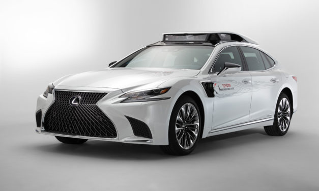 Toyota rolls-out P4 automated driving test vehicle at CES