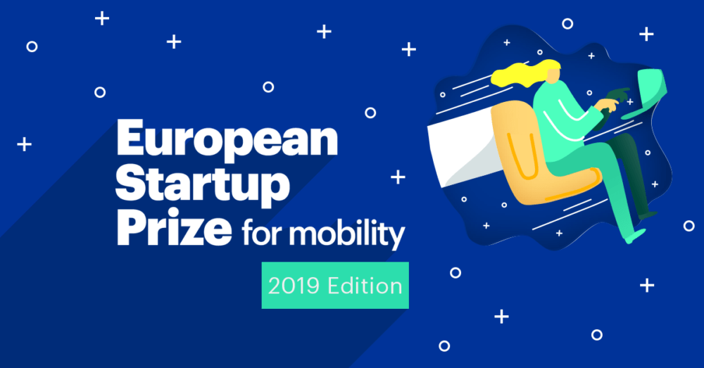 Apply now for the 2019 EU Startup Prize for Mobility