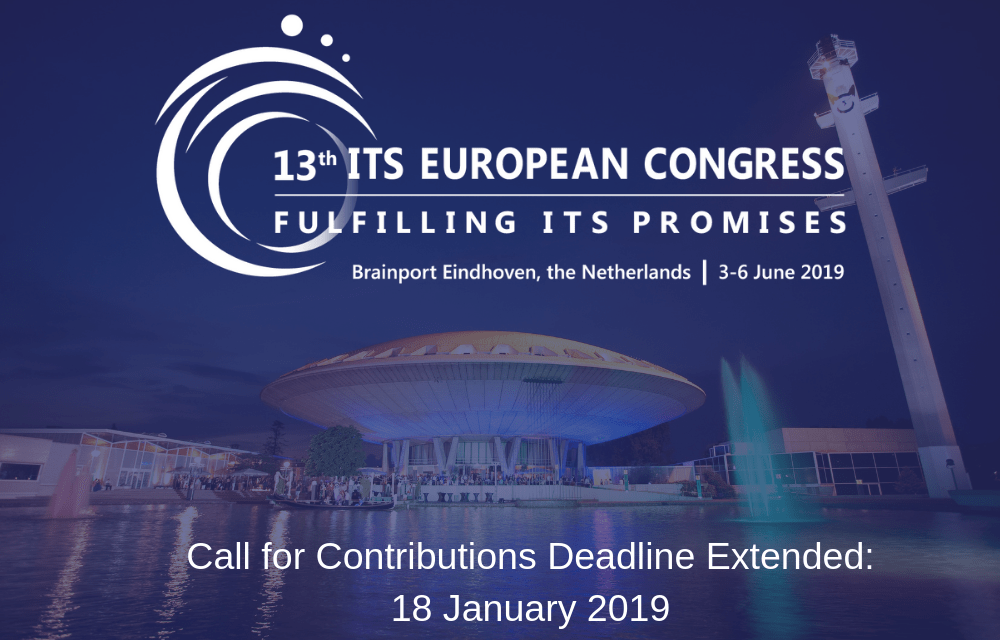 ITS European Congress extended deadline for papers and session proposals