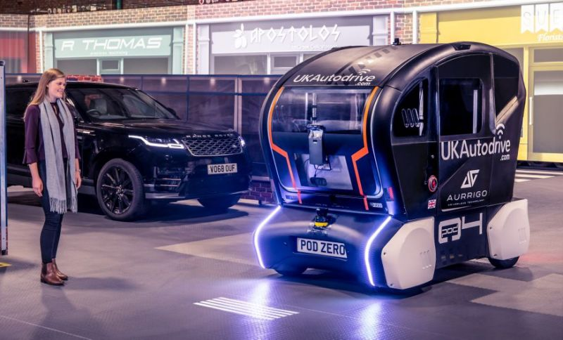 Jaguar Land Rover lights up the road ahead for future self-driving vehicles