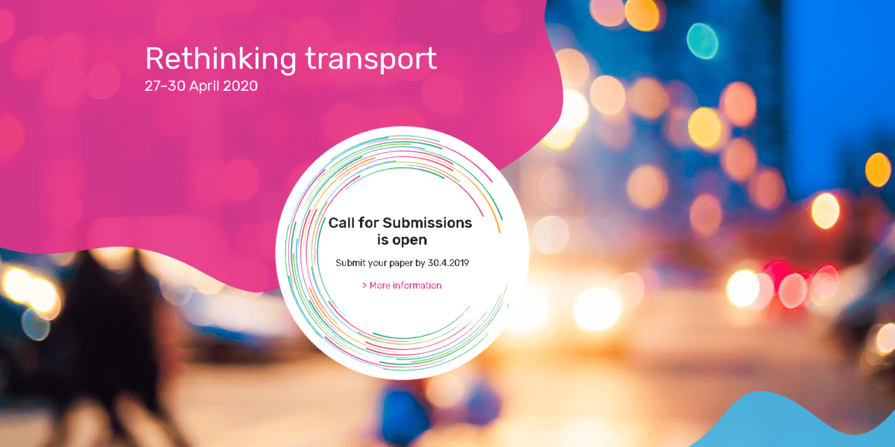 Transport Research Arena 2020 deadline for paper submission