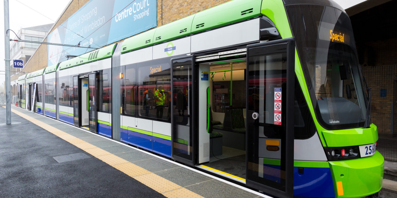 UK's first automatic braking system to be installed in London's trams