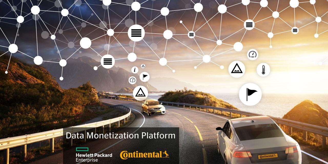 Continental and Hewlett Packard launch blockchain-based data monetisation platform