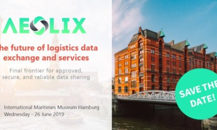 "Save the date for ""The future of logistics data exchange and services"""