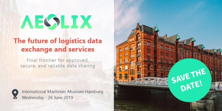 """Save the date for """"The future of logistics data exchange and services"""""""