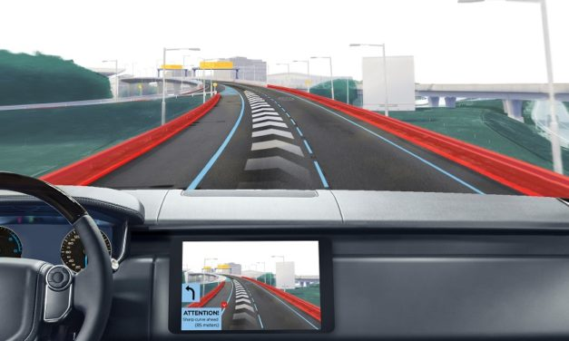 TomTom and Elektrobit reveal first HD map horizon for automated driving
