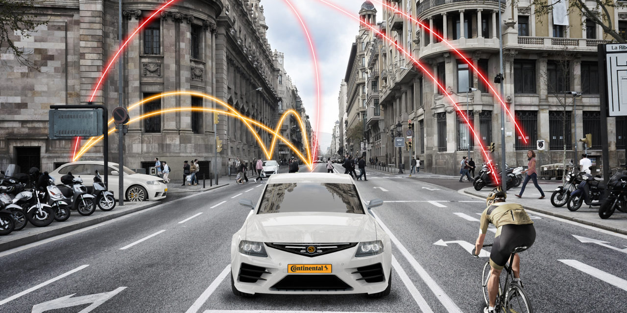 Continental and Vodafone cooperate for road safety