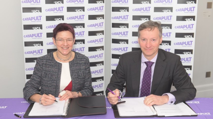 Transport Systems Catapult to develop intelligent transport solutions with UCL