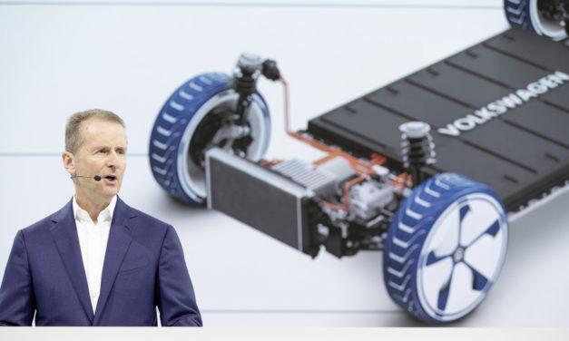 Volkswagen plans 22 million electric vehicles in ten years
