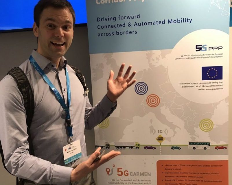 5G Cross border corridor projects make a debut at the EUCAD