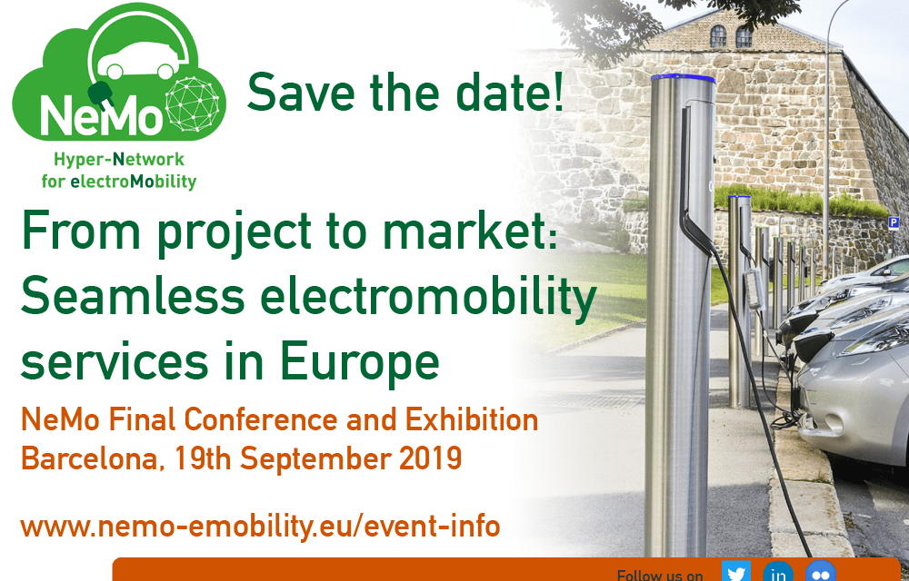 Save the date for the electro-mobility final conference and exhibition