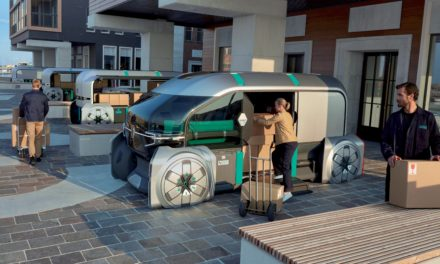 Meet Renault EZ-PRO: a robo-vehicle AND a concierge for last mile delivery