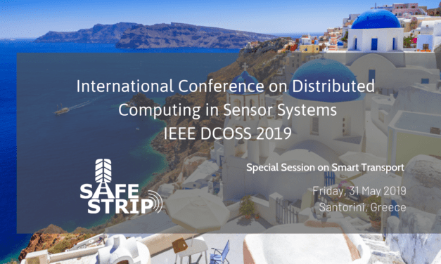 Smart infrastructure C-ITS solution to be presented at DCOSS 2019