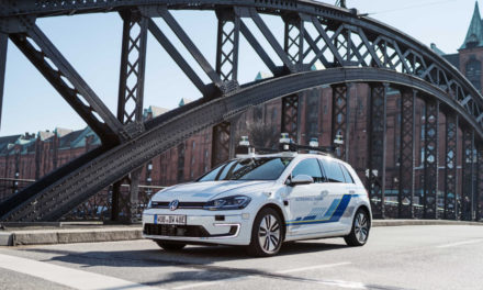 Volkswagen goes autonomous in Hamburg
