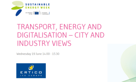 Join ERTICO at the European Sustainable Energy Week in June