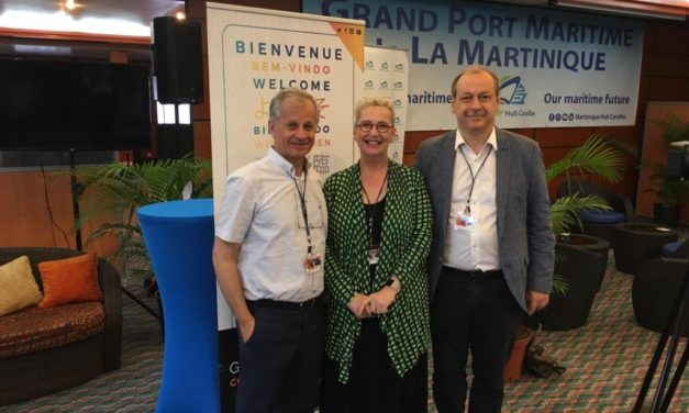 Logistics platform presented at the Carribbean Supply Chain event