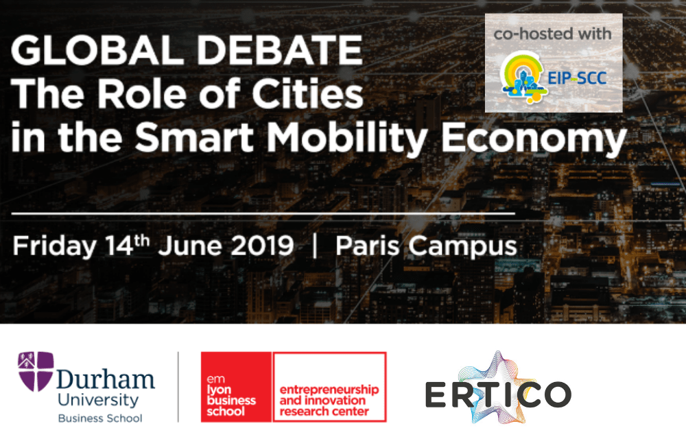 ERTICO discusses urban and air mobility in Paris