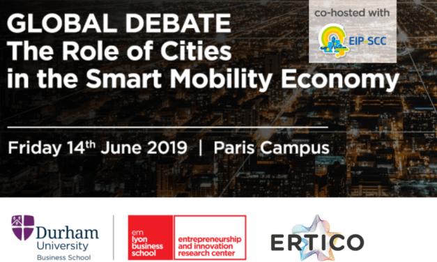 ERTICO discusses urban and air mobility in Paris