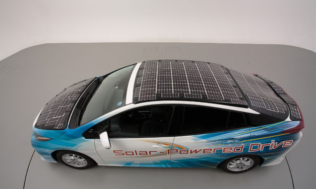 Toyota to trial electrified vehicles equipped with solar batteries