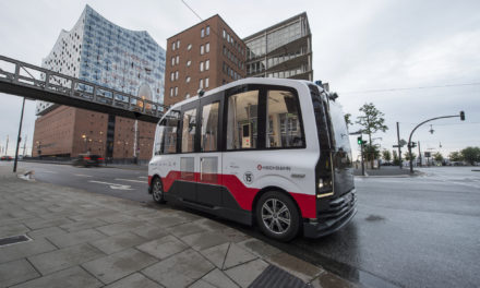 First autonomous shuttle test successfully carried out in Hamburg