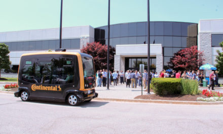 Continental launches series production of technologies for robo-taxis
