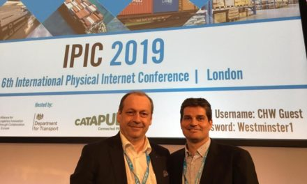 The future of the global freight and logistics industry is presented in London