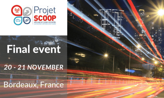 Learn about C-ITS deployment perspectives this November