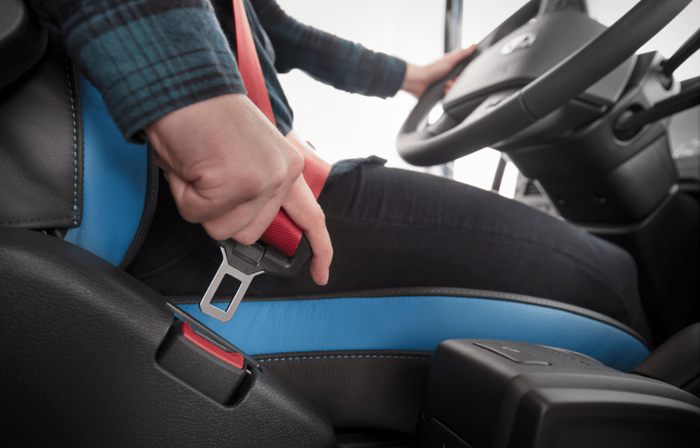 Volvo Trucks celebrates 60 years of seat belt