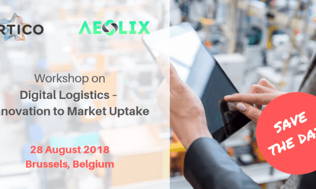 Save the date for this workshop on digital logistics – Innovation to market uptake