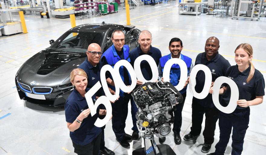 BMW Group UK engine plant hits the five millionth milestone