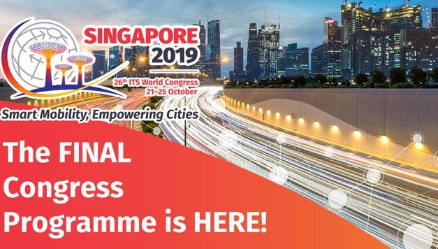 ITS World Congress 2019 final programme now available