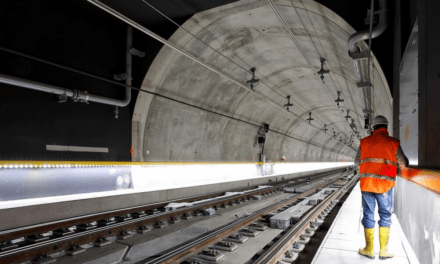 Works completed for Stuttgart's largest rail tunnel