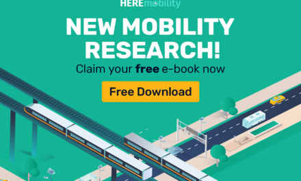 HERE publishes first ever industry-wide e-book on state of Mobility