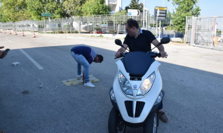First real road infrastructure testing of sensor technologies conducted in Greece