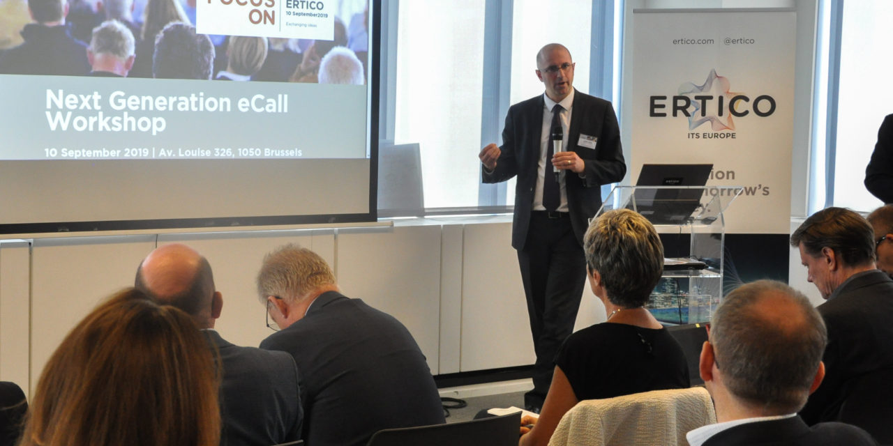 ERTICO initiates Next Generation eCall with Focus On Workshop