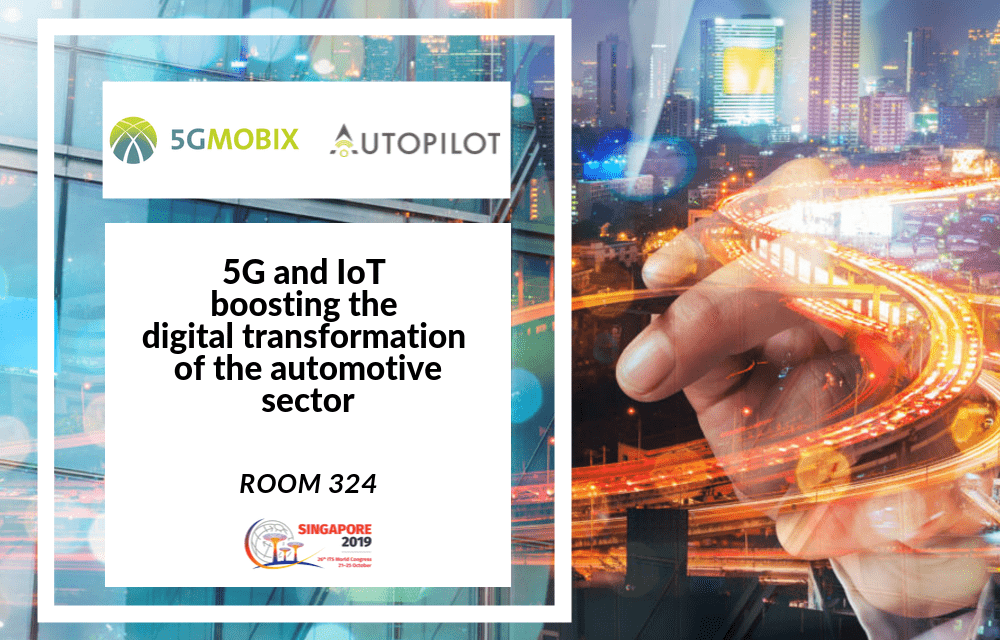 5G and IoT boosting the digital transformation of the automotive sector