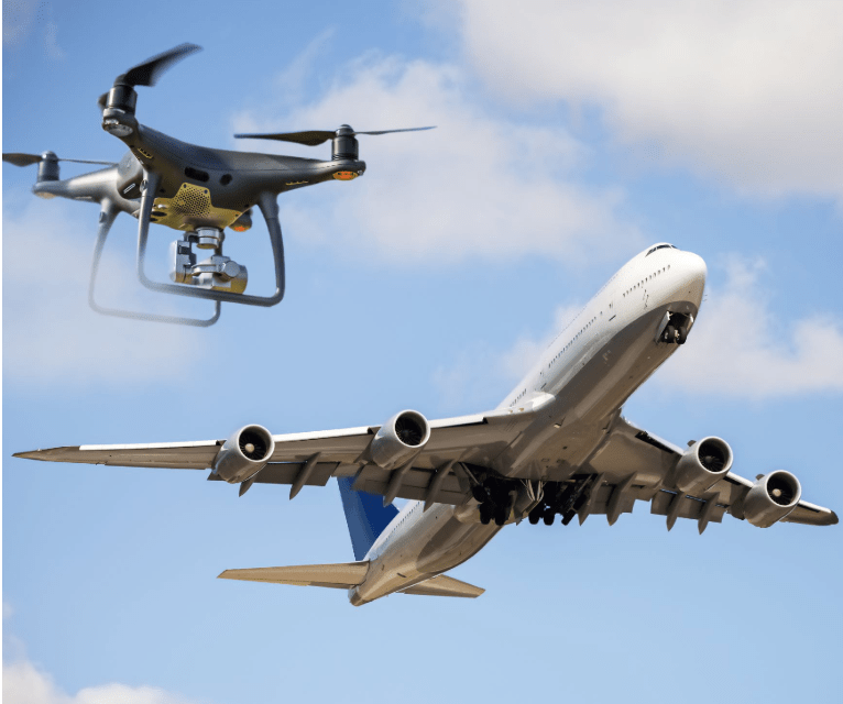 Connected Places Catapult | New report points way to shared airspace between drones and traditional aircraft